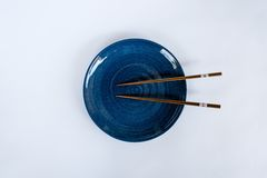 Chopsticks dish prepared for the Japanese people. Royalty Free Stock Photos