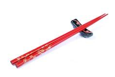 Chopsticks e grampo fotografia de stock royalty free