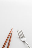 Chopsticks fork Stock Photos