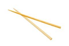 Chopsticks isolados no branco. imagens de stock royalty free