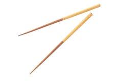 Chopsticks isolated on white Stock Photography