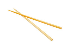 Chopsticks isolated on white. Royalty Free Stock Images