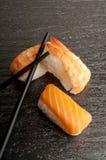 chopsticks mieszanki suszi obraz royalty free