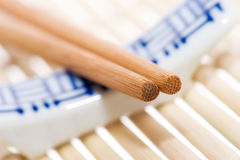 Chopsticks and rest Royalty Free Stock Photo