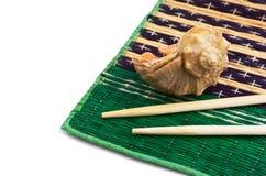 chopsticks skorupy Obraz Royalty Free