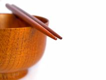 Chopsticks still life Stock Photography
