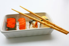 chopsticks suszi Obraz Stock