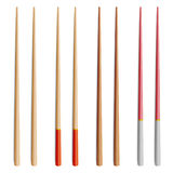 Chopsticks Vector Set. Realistic Wooden Set Of Classic Japanese, Chinese, Asian Food Chopsticks Isolated Illustration Royalty Free Stock Photo