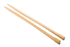 Chopsticks on a white background Royalty Free Stock Photography