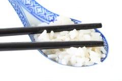 Chopstics and rice Royalty Free Stock Photos