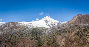 Chopta Valley in north Sikkim India Stock Images