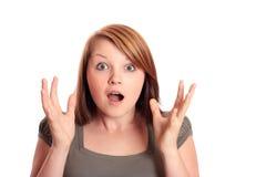 Choque! Imagens de Stock