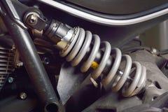 Choque Absorber& x27; motocicleta de s Foto de Stock Royalty Free