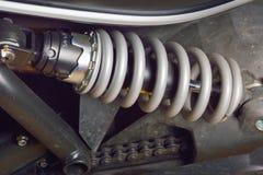 Choque Absorber& x27; motocicleta de s Imagem de Stock Royalty Free