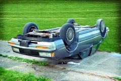 Choque de carro Foto de Stock