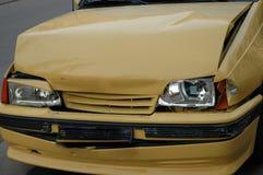 Choque de coche Imagenes de archivo