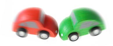 Choque de coche Imagen de archivo libre de regalías