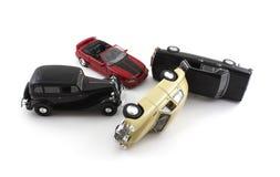 Choque de coche Foto de archivo libre de regalías