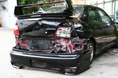 Choque de coche Foto de archivo