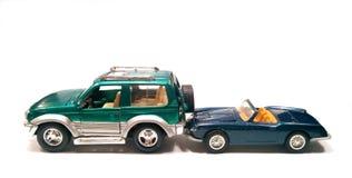 Choque de coche en el tope Imágenes de archivo libres de regalías
