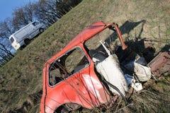 Choque de coche mini Imagen de archivo libre de regalías