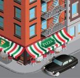 Choque de la mafia de Nueva York Imagen de archivo