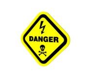 choque eléctrico 3d Ilustração Stock