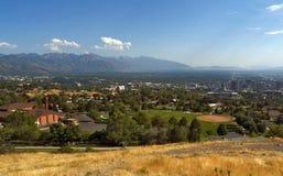 Chorążego park, Salt Lake City, Utah, usa zdjęcie royalty free