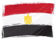 chorągwiany Egypt grunge Obraz Royalty Free