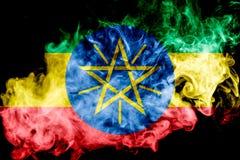 chorągwiany Ethiopia obywatel obraz stock
