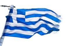 chorągwiany grek zdjęcie royalty free