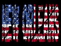 chorągwiany grunge nowy Orleans Zdjęcie Royalty Free