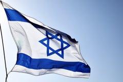 chorągwiany Israel Obrazy Royalty Free