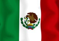 chorągwiany Mexico Zdjęcia Royalty Free