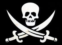 chorągwiany pirat Zdjęcie Royalty Free