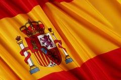 chorągwiany Spain Zdjęcia Stock