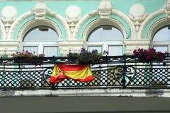 chorągwiany spanish zdjęcie stock