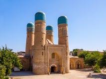 Chor较小Madrassah,布哈拉,乌兹别克斯坦 联合国科教文组织世界遗产名录 免版税库存照片
