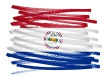 Chorągwiana ilustracja - Paraguay Zdjęcie Royalty Free