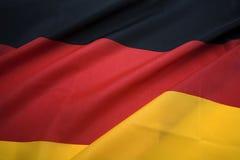chorągwiana niemiec Fotografia Stock