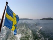 chorągwiane archipelag fala Zdjęcie Royalty Free