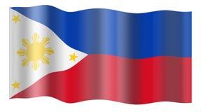 chorągwiani Philippines Zdjęcia Stock