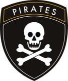 chorągwiani piraci Fotografia Stock