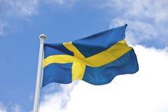 chorągwiani szwedzi Fotografia Royalty Free