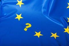 chorągwiany Europejczyka zjednoczenie Fotografia Royalty Free