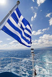 chorągwiany grek Obraz Stock