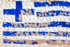 chorągwiany grek Obrazy Stock