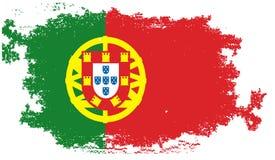 chorągwiany grunge Portugal Fotografia Stock