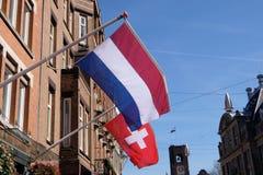 Chorągwiany Holandia Obrazy Royalty Free