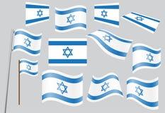 chorągwiany Israel Zdjęcia Royalty Free